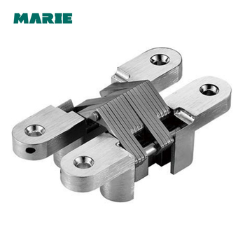 3D Adjust Zinc Alloy Concealed Gate Door Hinge Invisible Cross Hinge
