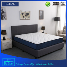 Professional and comfortable indian cotton mattress for best queen size with wave foam layer
