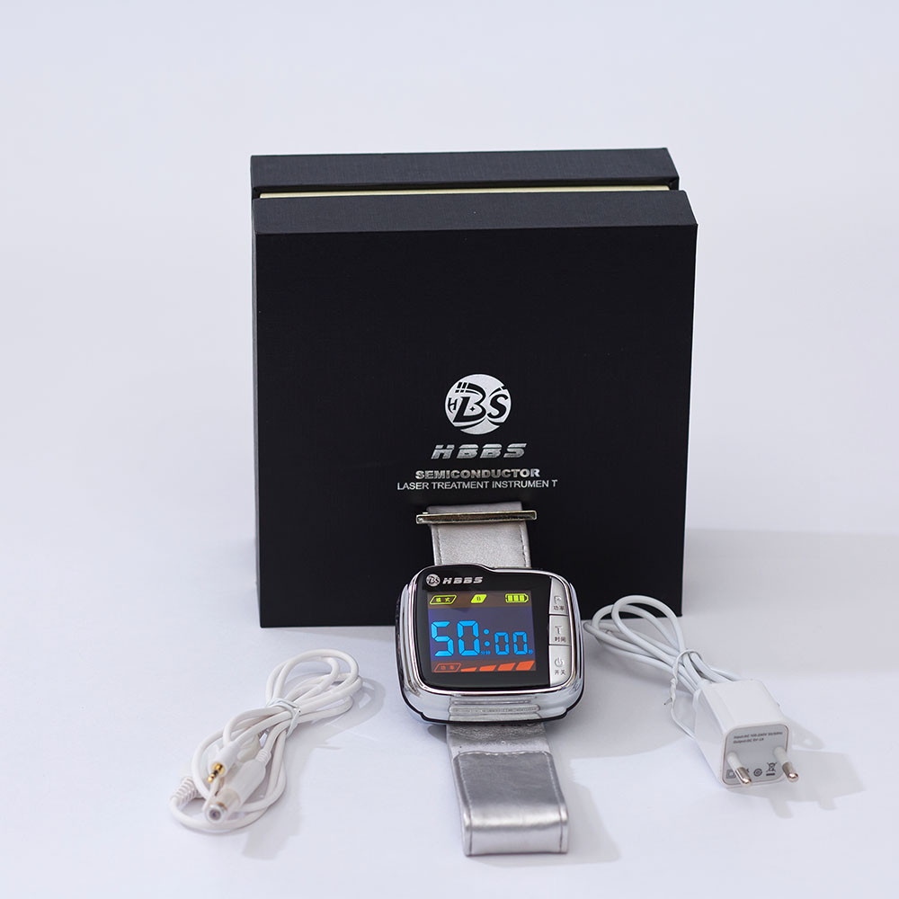 China factory wholesale and retail 650nm blood pressure treatment watch