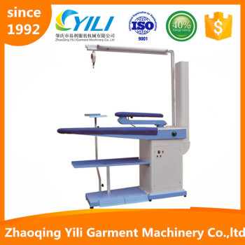 vaccum suction and blowing ironing table board machine factory
