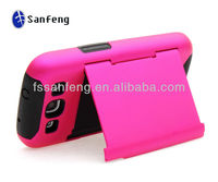 Big factory hot wholesale good quality stowaway case for samsung galaxy s3 credit card case hot pink