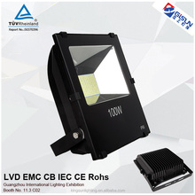 Colorful housing 100w smd led outdoor flood light with TUV certification