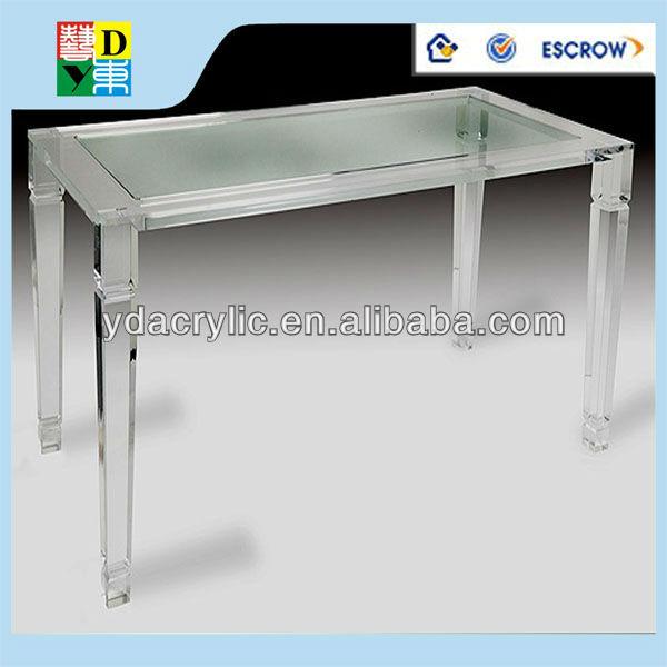 Bon Amaizing Personnalisé Acrylique Set De Table Avec 4 Chaises Acrylique  Transparent Table De Salle à Manger