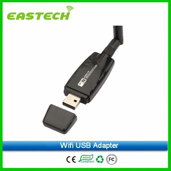 wifi usb adapter ieee802.11n 300Mbps 2T2R realtek 8192 chipset with external antenna