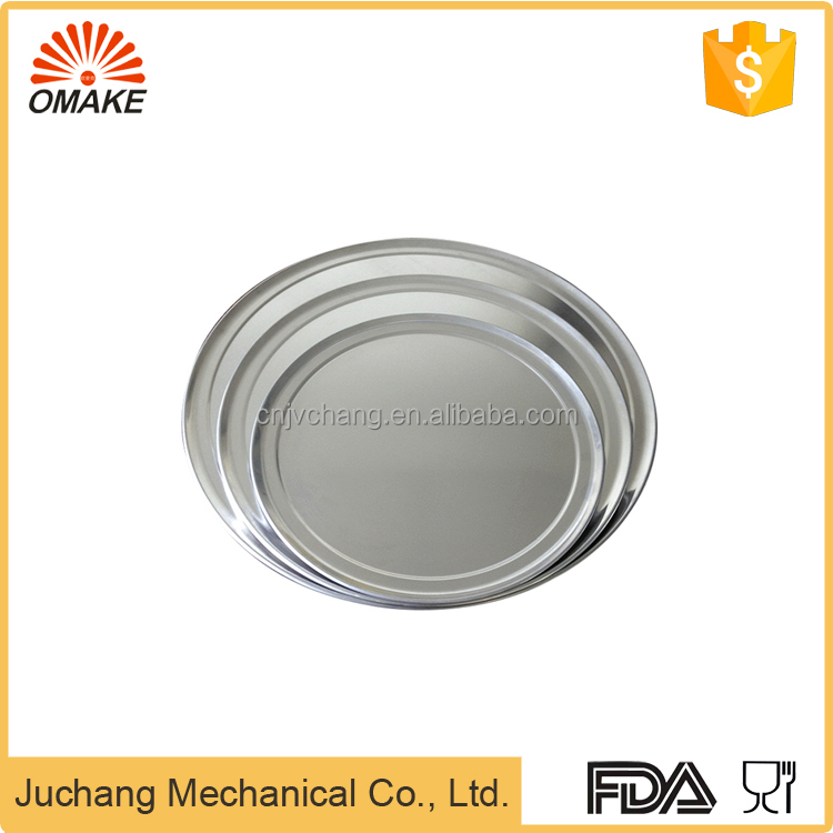 14 inch Aluminum Alloy Round Pizza Pan, Round Pizza Trays, Metal Pizza Pan