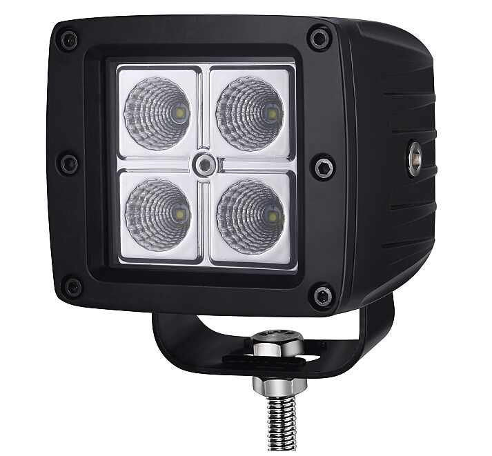 Led work light for ATVs,SUV,UTV,truck,trains,boat,bus,and tanks with Pressure Equalizing Vent (Breather)