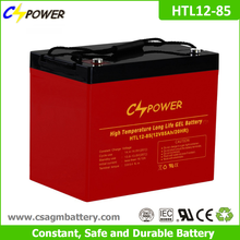 12V85ah UPS battery, High temperature Deep Cycle Gel Battery