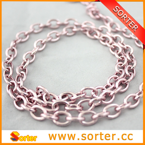 Al fashionable metal chain links accessories for Bags / Shoes /clothes
