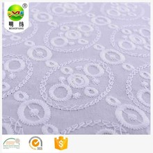 african 100 white cotton textile eyelet lace embroidery fabric