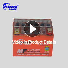Nigeria hot sale motorcycle gel battery 12v 4ah with the lowest price