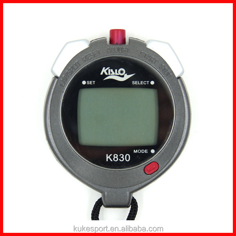 Factory direct 3 rows 30 memeory multifunction profession sport stopwatch timer