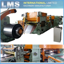 LMS Automatic coil metal slit machine / slitting line / slitting machine