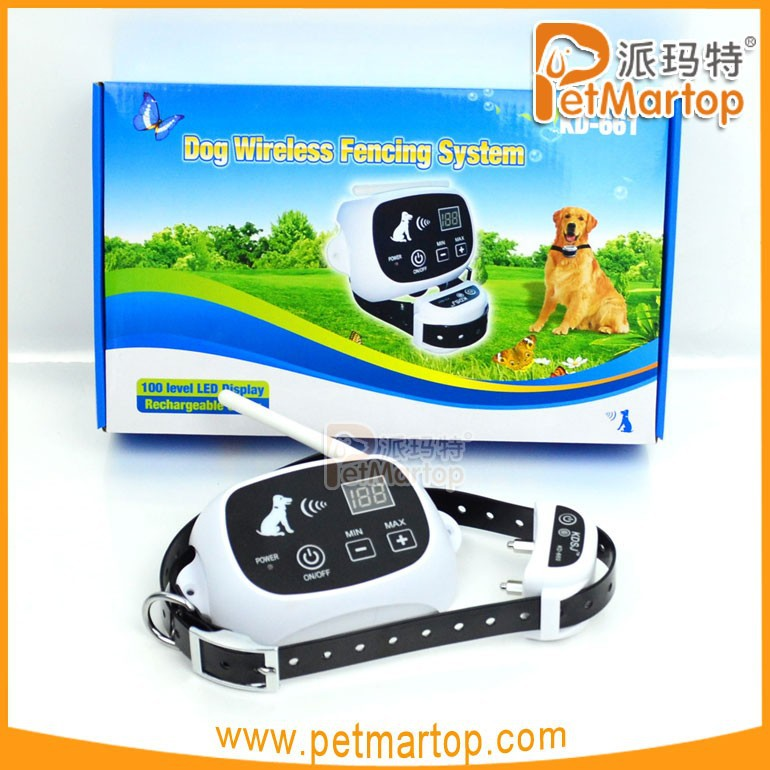 2016 new items portable wireless fence for dog pet fence system