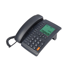 Large display telephone, one-touch memories telephone, corded ID phone