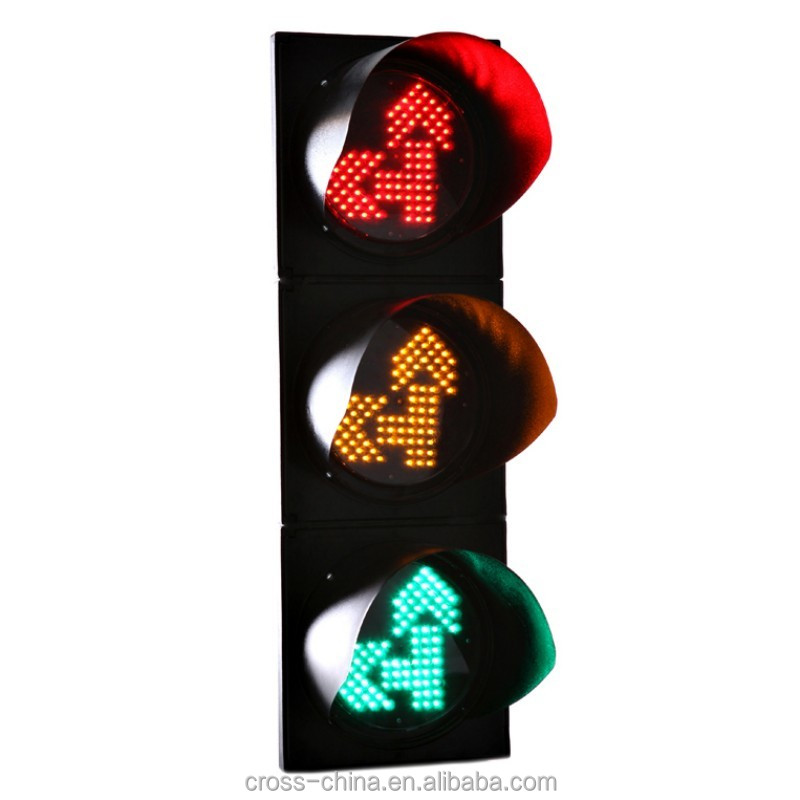 200mm Straight and Left Arrow LED Traffic Signal Light