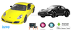 Outdoor car smartphone car! Porsche 1:10 scale rc car control by mobile phone
