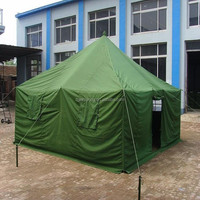 Waterproof 20 persons canvas military refugee tent for sale