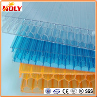 best lexan polycarbonate sheet price PC66 pc honeycomb panels plastic