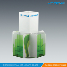 Rotatable A5 Standing Plexiglass Brochure Holder