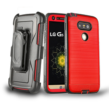 pc tpu shockproof phone case for lg g3 g4 g5