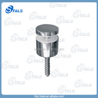 Simple style hot selling decorative garden fencing glass standoff screw