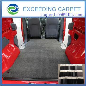 Seat backing materials polyester felt