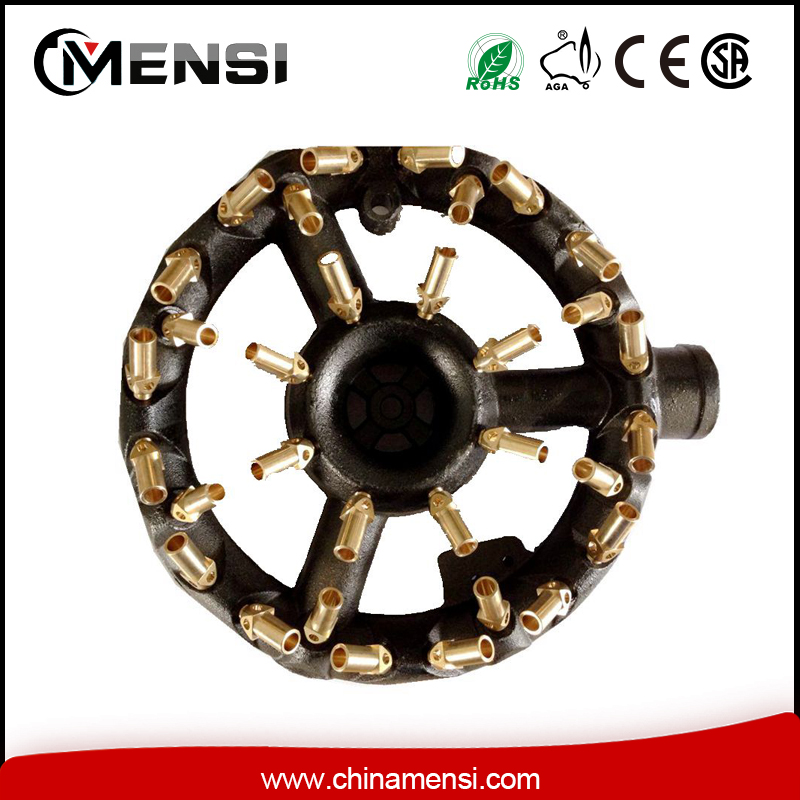 lpg cast iron brass nozzle jet gas burner