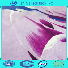100% polyester popular printed microfiber bedding fabric