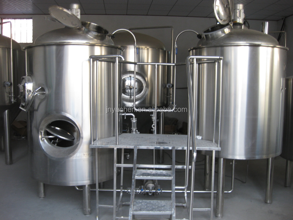 stainless 500 gallon tank/beer brewing machine/beer fermenter