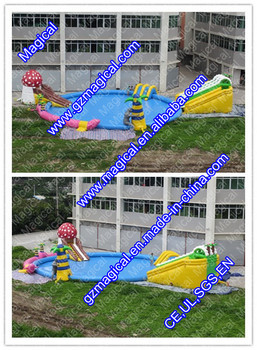 Giant inflatable water park / inflatable water games for adults