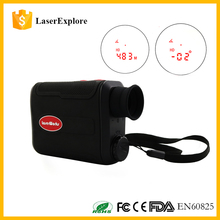 2017 New Release Red Inner View Display 800m Laser Rangefinder Hunting range finder With Jolt Technology