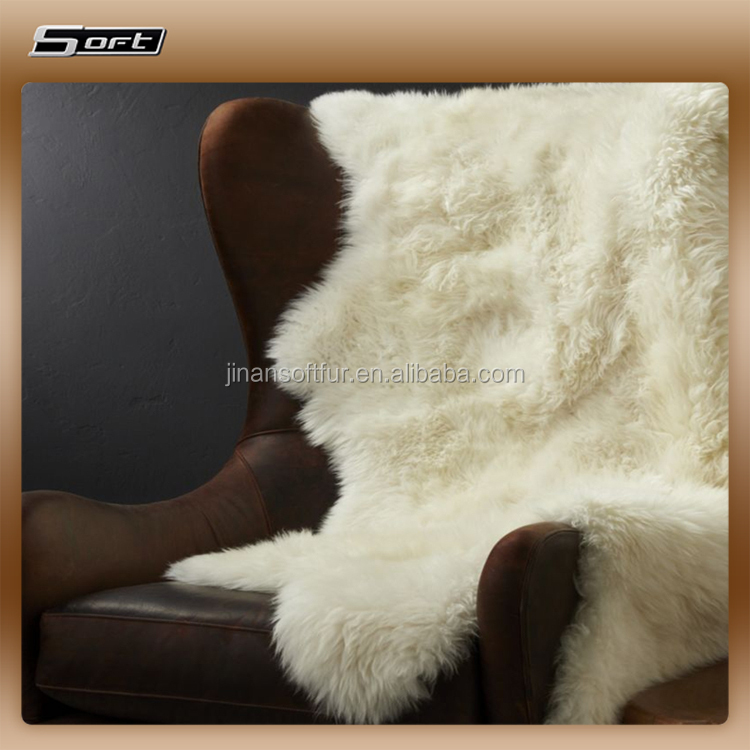 Long pile sheepskin sheepskin plush blanket