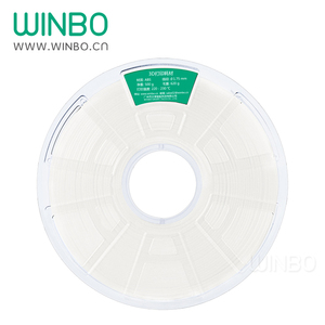1.75 mm ABS filament High quality Winbo ABS filament N.W 500g for FDM 3D Printer FFF 3D Printer White