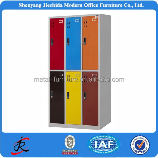 china best selling modern new high quality 6 door office file steel metal <strong>cabinets</strong>