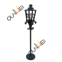 1:12 scale Dollhouse Miniature accessories Garden Street Lights, wholesale dollhouse furniture ,miniature floor lamps QW25007