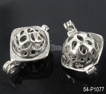 Wholesale Cheap Tibetan Brass Filigree Connect Pendant For Jewelry Making