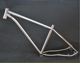 Lighter and Stronger Gr 5 material titanium fixed gear bike frame with certificate
