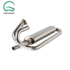 stainless steel polish exhaust muffler tail pipe