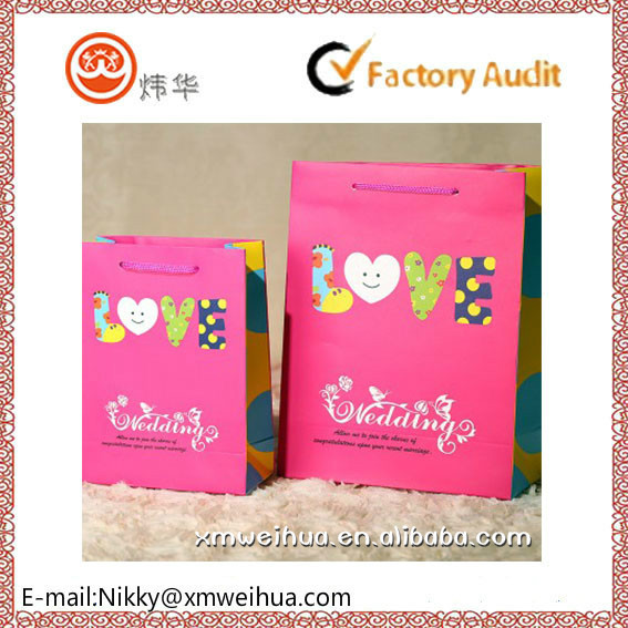 Going Rate For Wedding Gift 2015 : 2015 Customized Wedding Gift Paper Bag - Buy Wedding Door Gift Paper ...