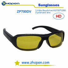 hot selling hd video sunglasses zp700 use for 2 wheel hoverboar