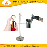 Latest technology hot selling rope stanchions pipe stanchion