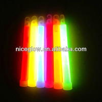 6 inch chemical glow stick glow in dark