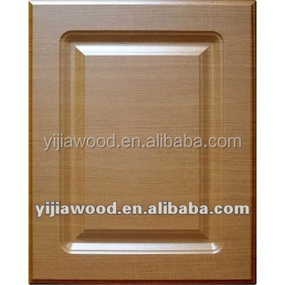 Unfinished PVC Film Faced MDF Board Kitchen Cabinet Door and Drawer Front Cabinet Door