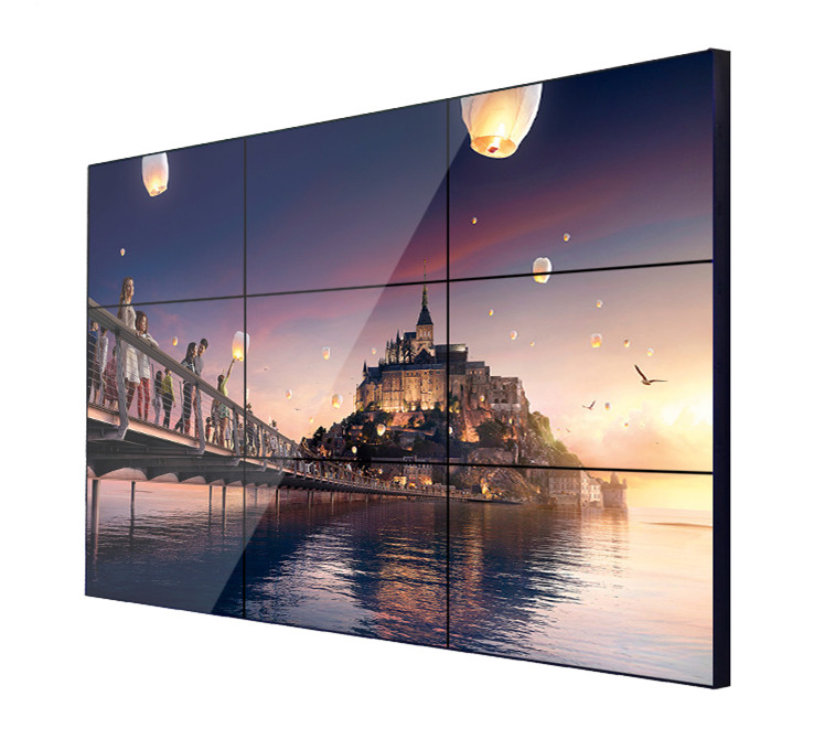 46 inch 3.5 mm bezel, 700nits brightness, 1920x1080, 4x2 lcd video wall display <strong>screen</strong>