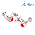 Wine Cups Cuff link Silver Cheap Shirt Cufflinks Men