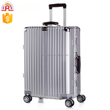Aluminum frame retro trolley case luggage suitcase for men and women travel luggage bag