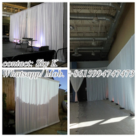 ida new hot selling wedding stage unique wedding backdrops sample for wonderful ceremony