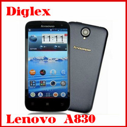Hot sale lenovo a830 smartphone mtk6589 1.2GHZ 5.0 inch ips quad core android 4.2 lenovo smartphone wholesale price