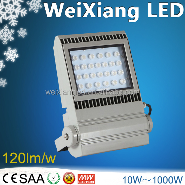 New XTE LED outdoor 100w Meanwell driver CE ROHS ETL SAA led flood light & 100w flood light 100lm/W