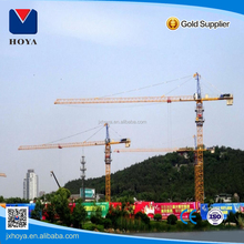 China factory traveling 56m or 60m qtz80 tc5612 tower for construction site